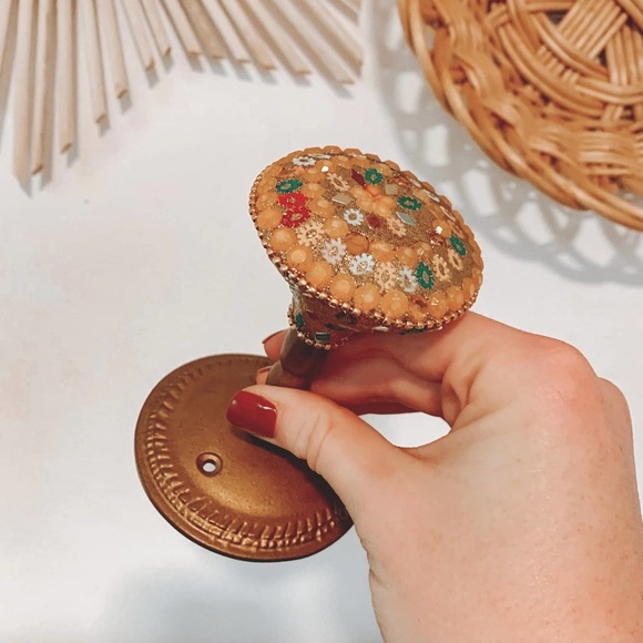 Urban Outfitters Bollywood Brass Door Knob Hook